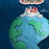 在平安夜追踪圣诞老人在世界各地的路线
