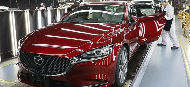 马自达庆祝日本生产五千万辆汽车