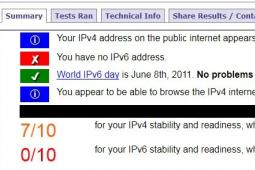 测试您的IPv6连接