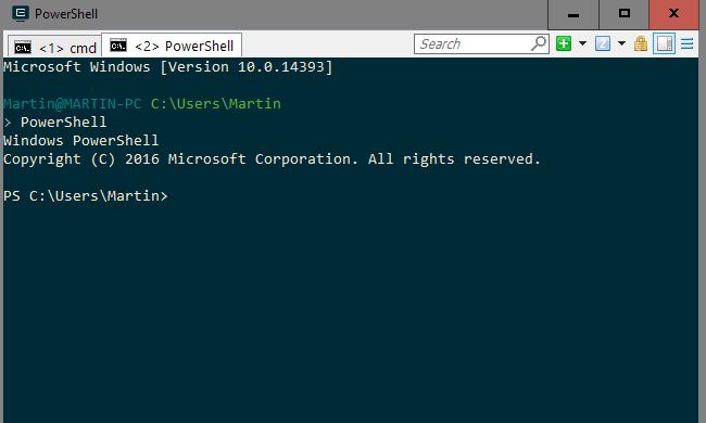 ConEmu是Windows控制台模拟器