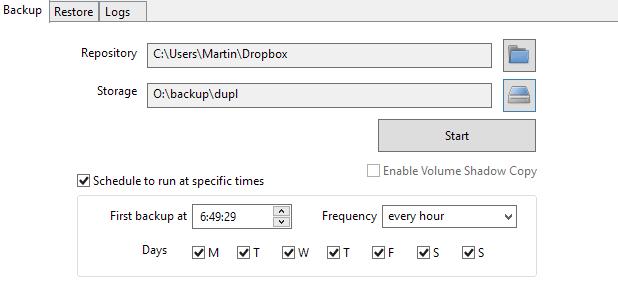 Duplicacy是Windows和Mac设备的文件备份解决方案