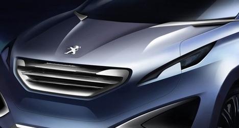 标致在北京车展上发布了城市交叉概念 进一步说明了该品牌的全球视野