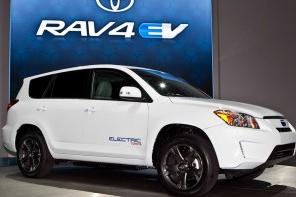 丰田RAV4 EV量产车型准备在2012年5月7日上市