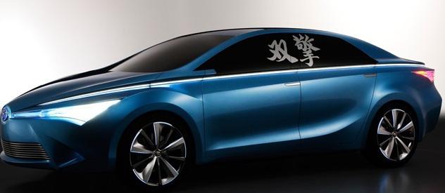 丰田的独家概念主要为开发