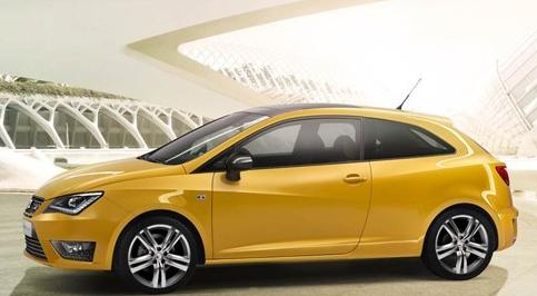 西亚特在北京推出新的伊维萨铜杯概念车
