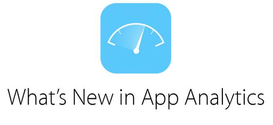 苹果将App Analytics淘汰了Beta版 添加了新功能