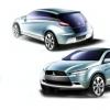 三菱透露其新型紧凑型跨界SUV的草图