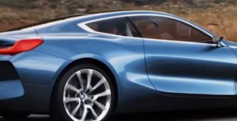 宝马8系概念车有惊人的促销