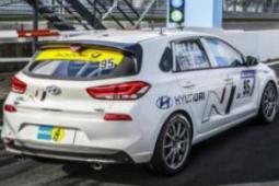 现代i30 N参加纽伯格林24小时耐力赛的最终测试