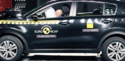 起亚Optima和Sportage荣获EuroNCAP的五星级评价