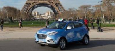 现代ix35燃料电池在巴黎提供出租车
