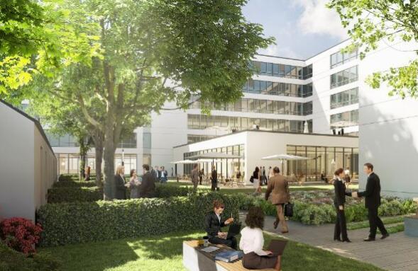 ECE斥资1.15亿欧元在汉堡市建立办公园区