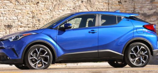 丰田CHR获得新的基本配置 起价22000美元