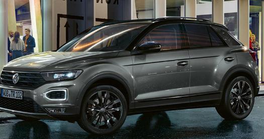大众汽车为TRocSUV带来了黑色造型细节和升级的装备