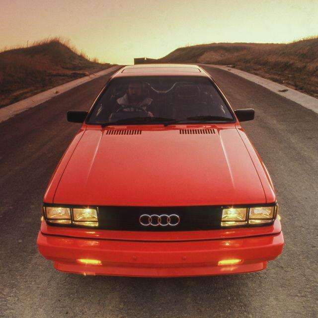 奥迪Quattro的全轮驱动系统彻底改变了性能赛车