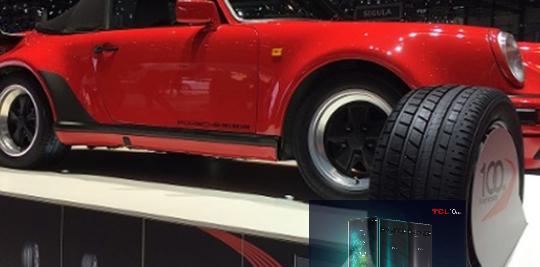 横滨为1960年代经典汽车增加了复古设计的新轮胎