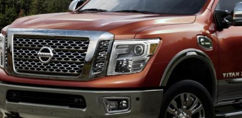 在市场上有一辆日产Titan XD全尺寸卡车