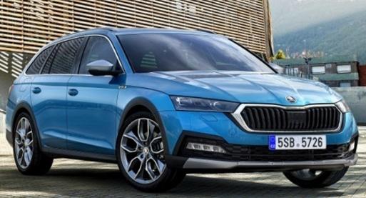 斯柯达明锐:斯柯达全新明锐跨界版车型图海外曝光,将在下月于西班牙上市