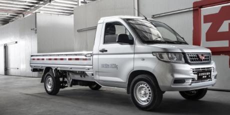 五菱荣光:五菱荣光新卡车型正式上市,共推出四款车型