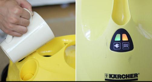 家电评测:凯驰蒸汽清洗机使用感受