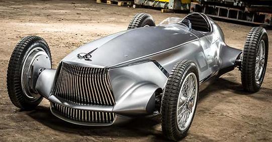 英菲尼迪在圆石滩展示Prototype 9电动车概念