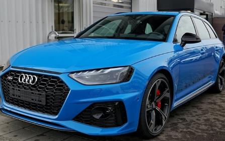 奥迪rs:奥迪RS4 Avant亮相,搭载2.9T V6双涡轮增压发动机