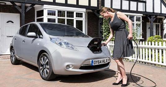 电动汽车充电点将是未来社区的中心