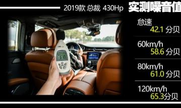 汽车知识科普:2019款玛莎拉蒂总裁噪音测试