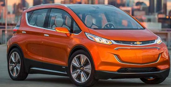 通用汽车将在CES上发布雪佛兰Bolt EV