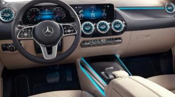 汽车知识科普:2020款奔驰GLA内饰实拍 新款奔驰GLA内饰如何
