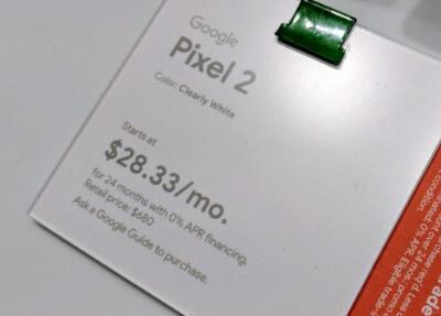 Google承诺偿还在弹出式商店购买过高价Pixel 2s的客户的费用