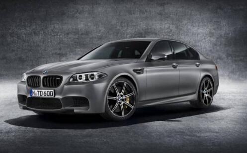 BMW 30 Jahre M5特别版 官方图片和细节。