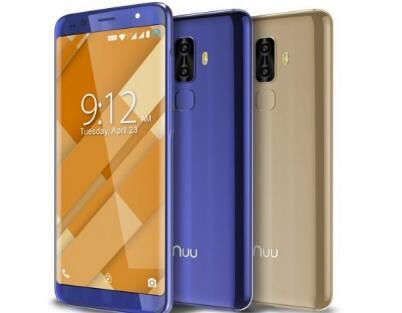 NUU Mobile推出了一对价格合理的18 9长宽比手机