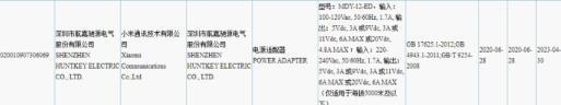 小米120W充电器获得3C认证 即将推出100W Super Charge Turbo手机