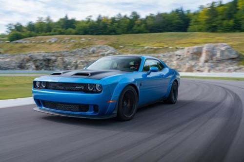 道奇Challenger SRT Hellcat Redeye表现平平 已测试了最高速度
