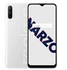 Realme Narzo 10A带有水滴式显示槽口