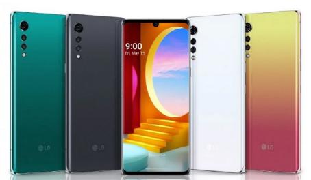 LG列出自定义Velvet UI的智能手机