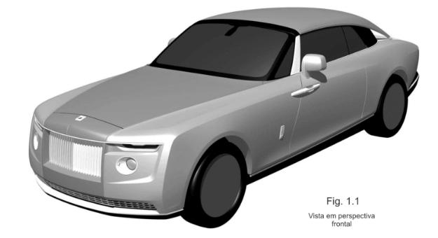 劳斯莱斯Drophead的专利申请可能已揭示了新的敞篷车