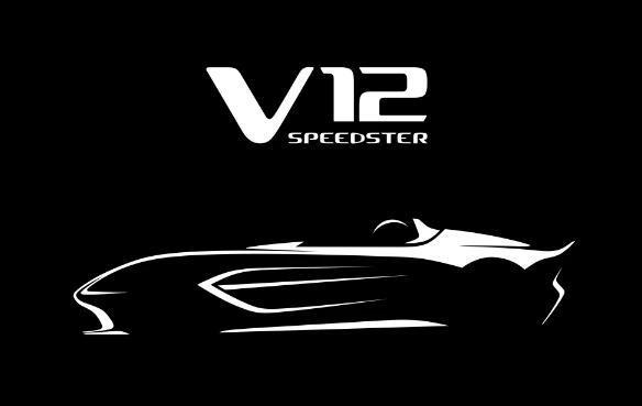 阿斯顿马丁挑逗一辆700马力的敞篷V12Speedster