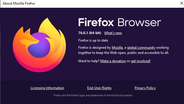 Firefox7601修复了Windows崩溃和扩展中的错误