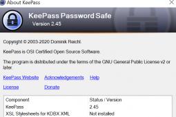 密码管理器KeePass245已发布这是新功能