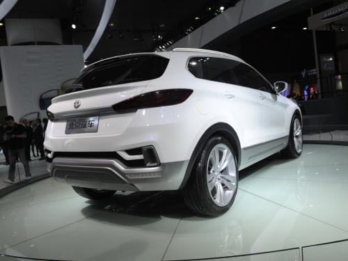 新的间谍照片显示了即将在中国进行的北京汽车C51XSUV测试