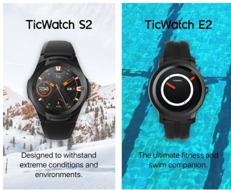 Mobvoi推出了WearOS手表并于今年为CES带来了两款新手表