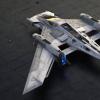 保时捷股份公司和卢卡斯电影有限公司的设计师共同开发了一个幻想飞船将两个品牌的设计DNA融合在一起