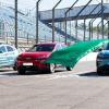 现代的科纳电动SUV充电可行驶600英里