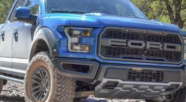 福特独特的铝型材保持了良好的状态