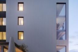 为DenmanProspect中的住户业主打造的共享空间宽敞的新房