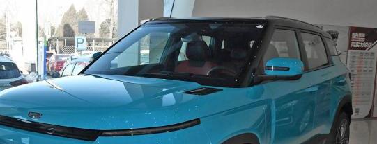 吉利icon新车上市:吉利icon将于2月14日上市