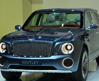 宾利suv:宾利SUV Concept在日内瓦车展发布