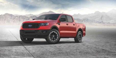 2021年福特Ranger将获得STX特别版套装以增加外观和技术